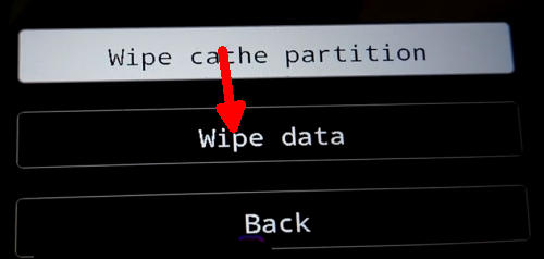wipe data Vivo V17