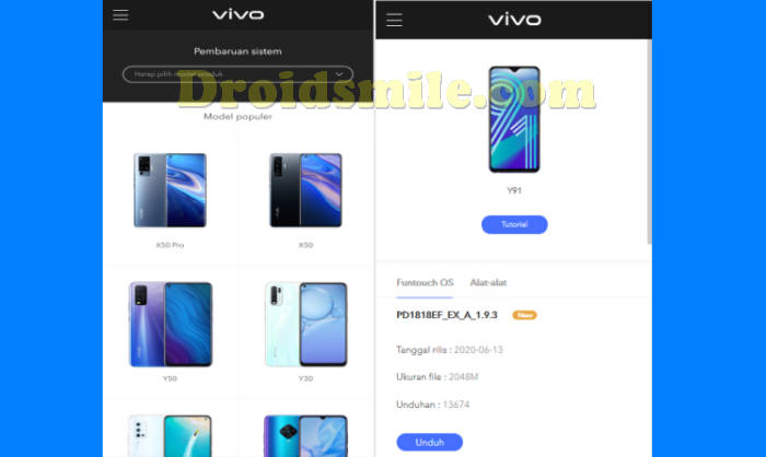 Download ROM Vivo